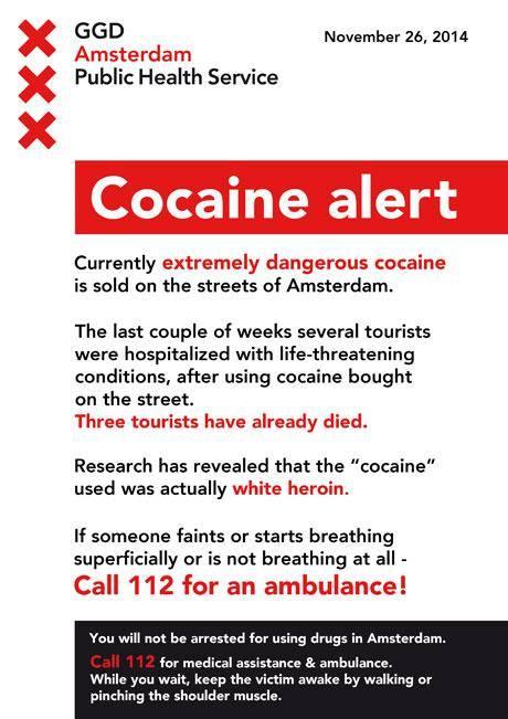 cocaine alert