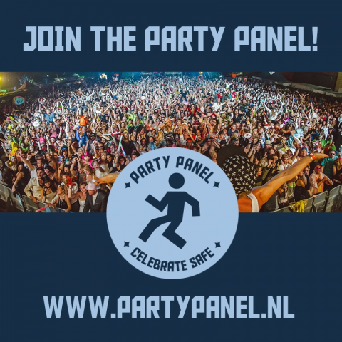 Party Panel uitgaan drugs Unity Celebrate Safe