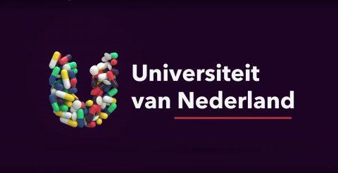 Universiteit van Nederland drugs en pillen unity