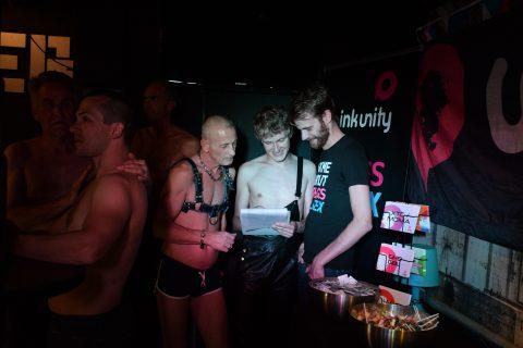 Pink Unity Gay Homo MSM Actie
