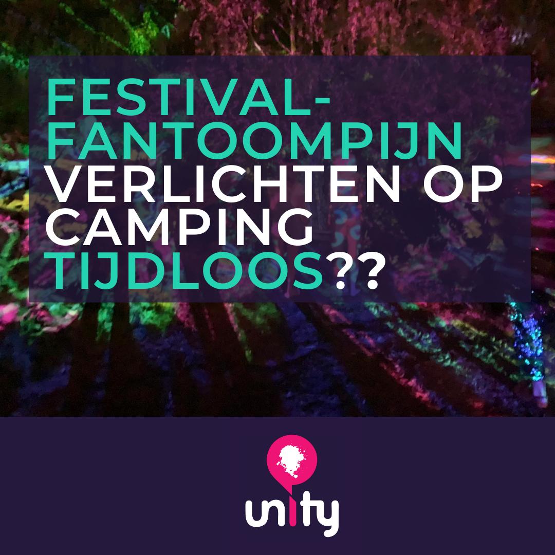 Festival-fantoompijn verlichten op camping Tijdloos?