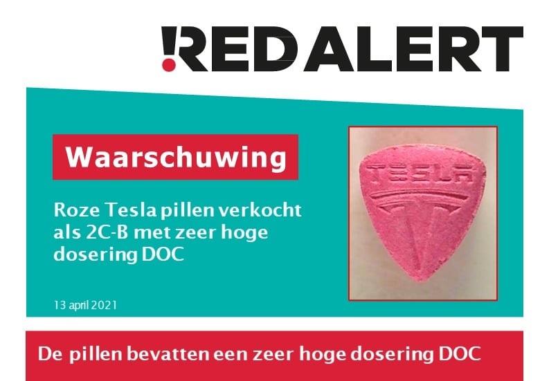 Waarschuwing: vervuilde 2C-B met DOC